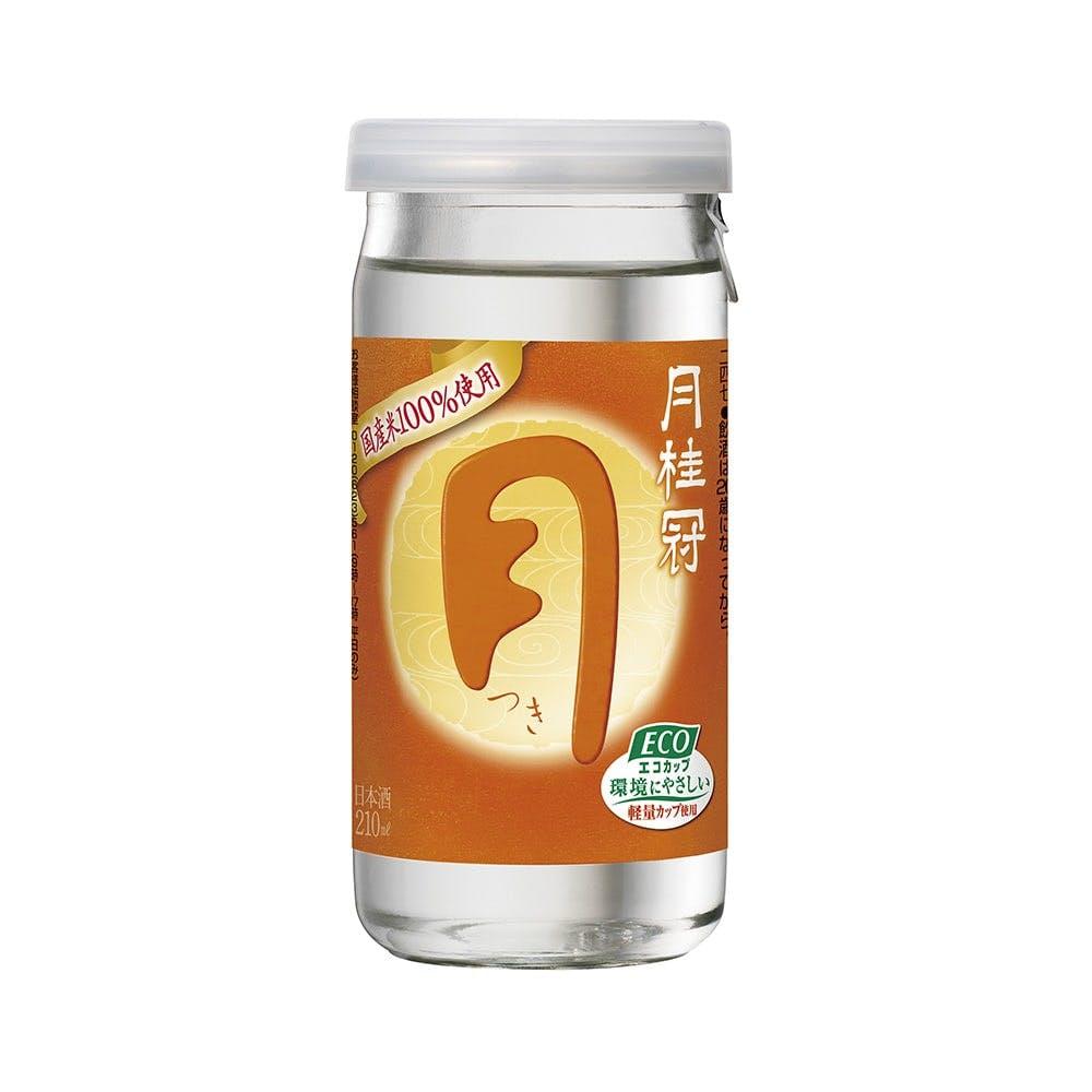 月桂冠 つき エコカップ 210ml【別送品】, , product