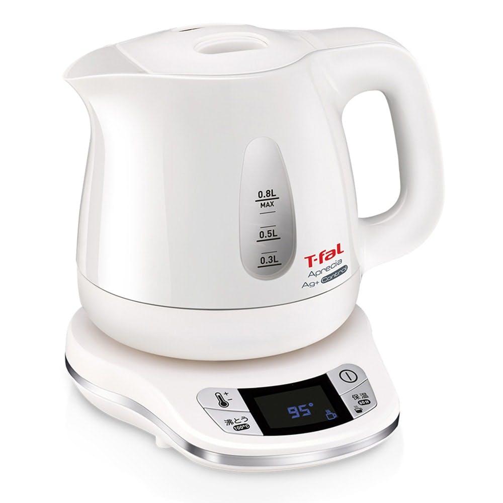 T-FAL 電気ケトル アプレシアコントロール パールホワイト, , product