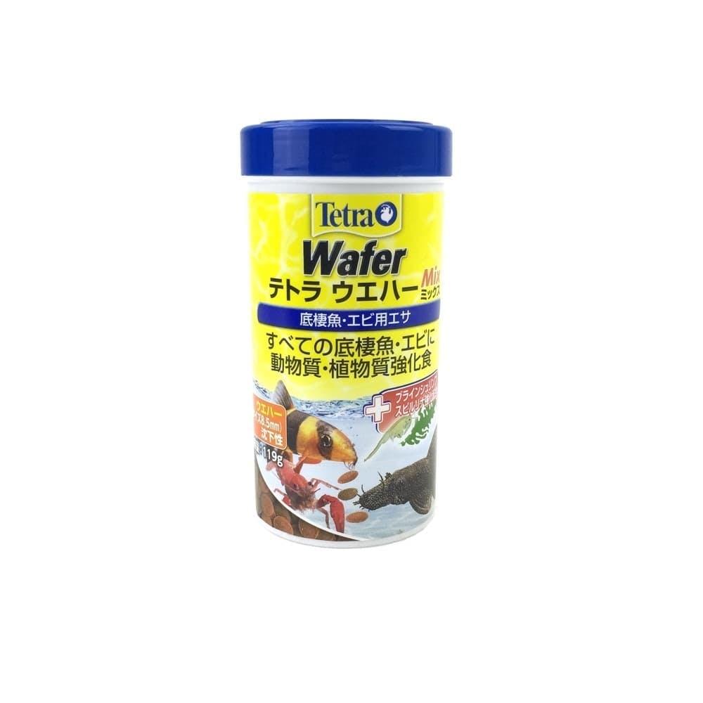 テトラ ウェハーミックス 低棲魚・エビ用エサ 119g, , product