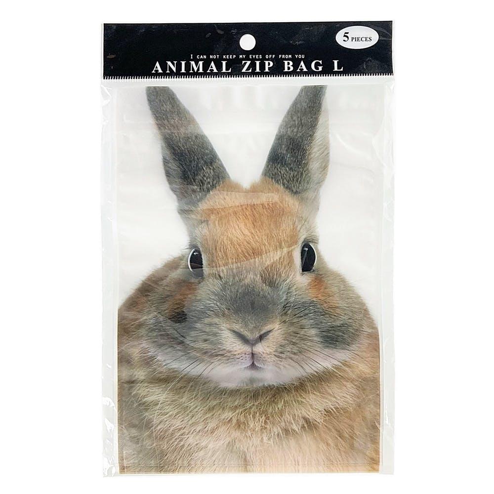 ジップバッグ ウサギ, , product
