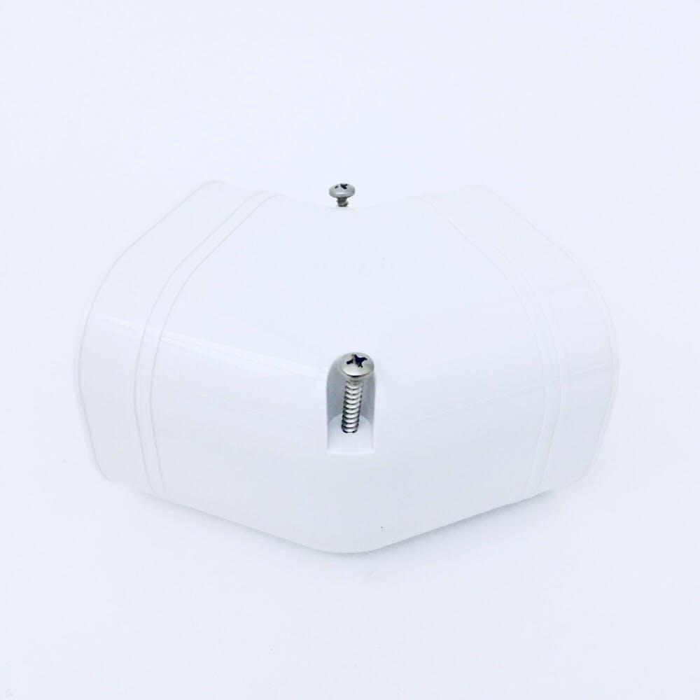 因幡 スリムコーナー平面45度 ホワイト SKF-77-W, , product