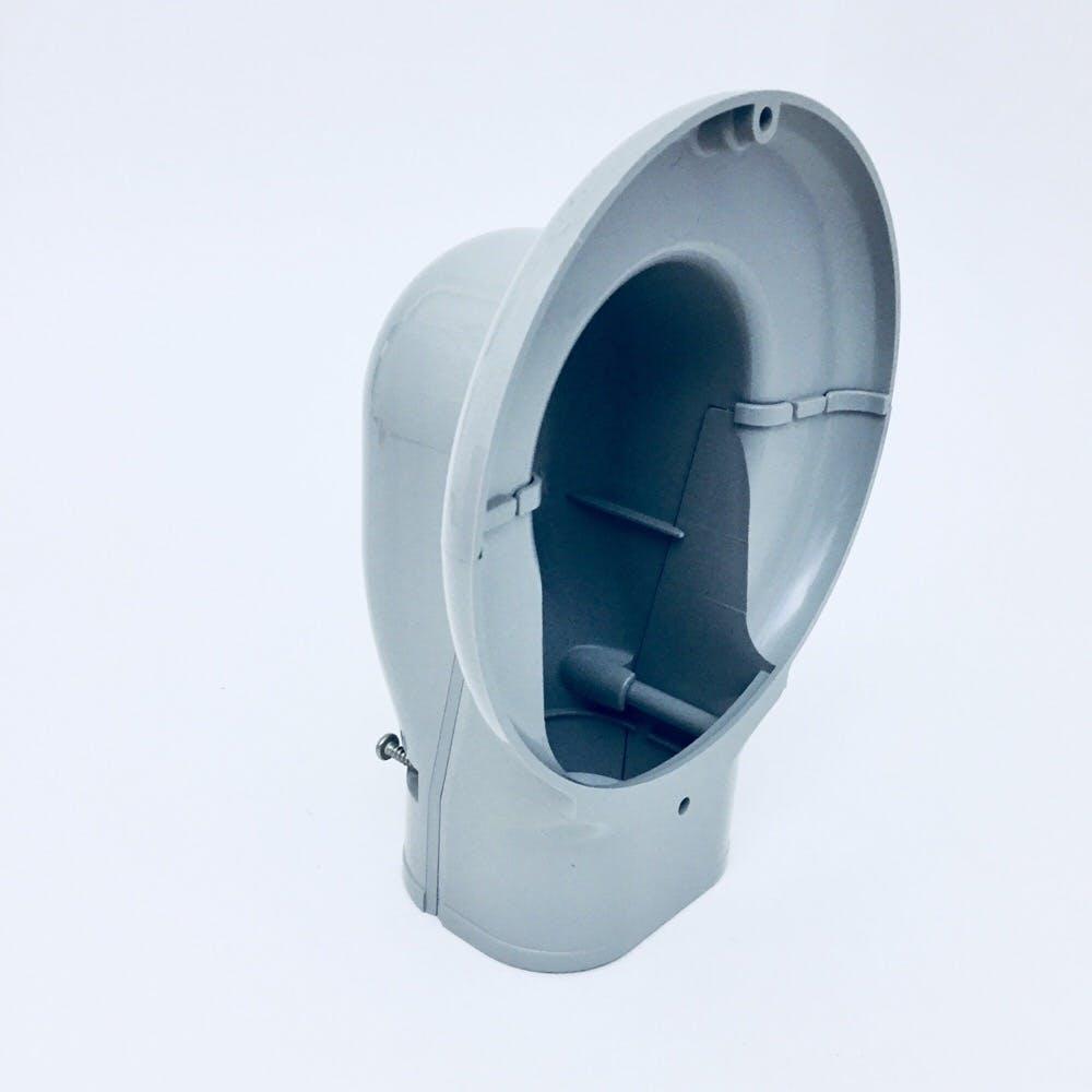 因幡 ウォールコーナー グレー SWM-77-G, , product