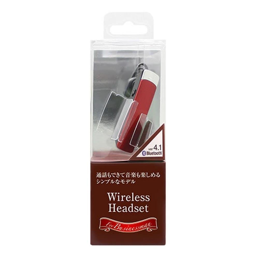 【数量限定】オズマ Bluetoothヘッドセットモノラルタイプ BT-11RD, , product