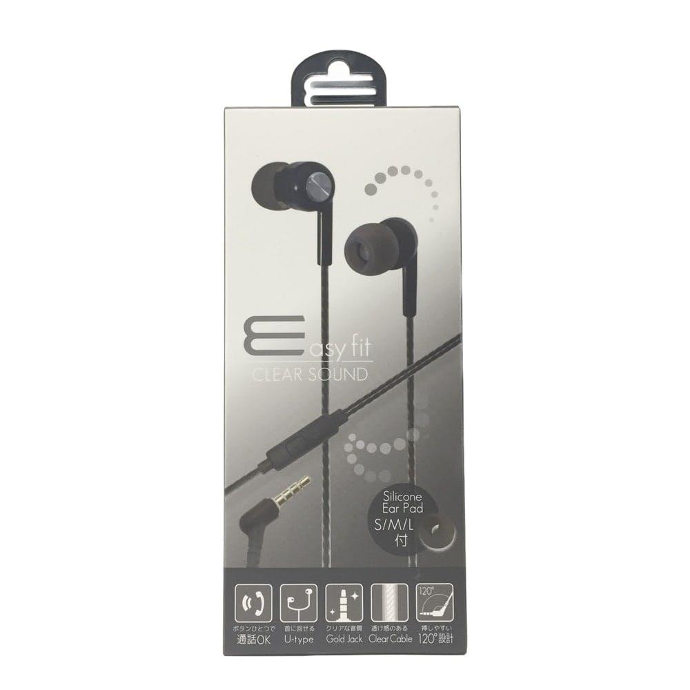 オズマ ステレオイヤホンマイク 3.5 U字, , product