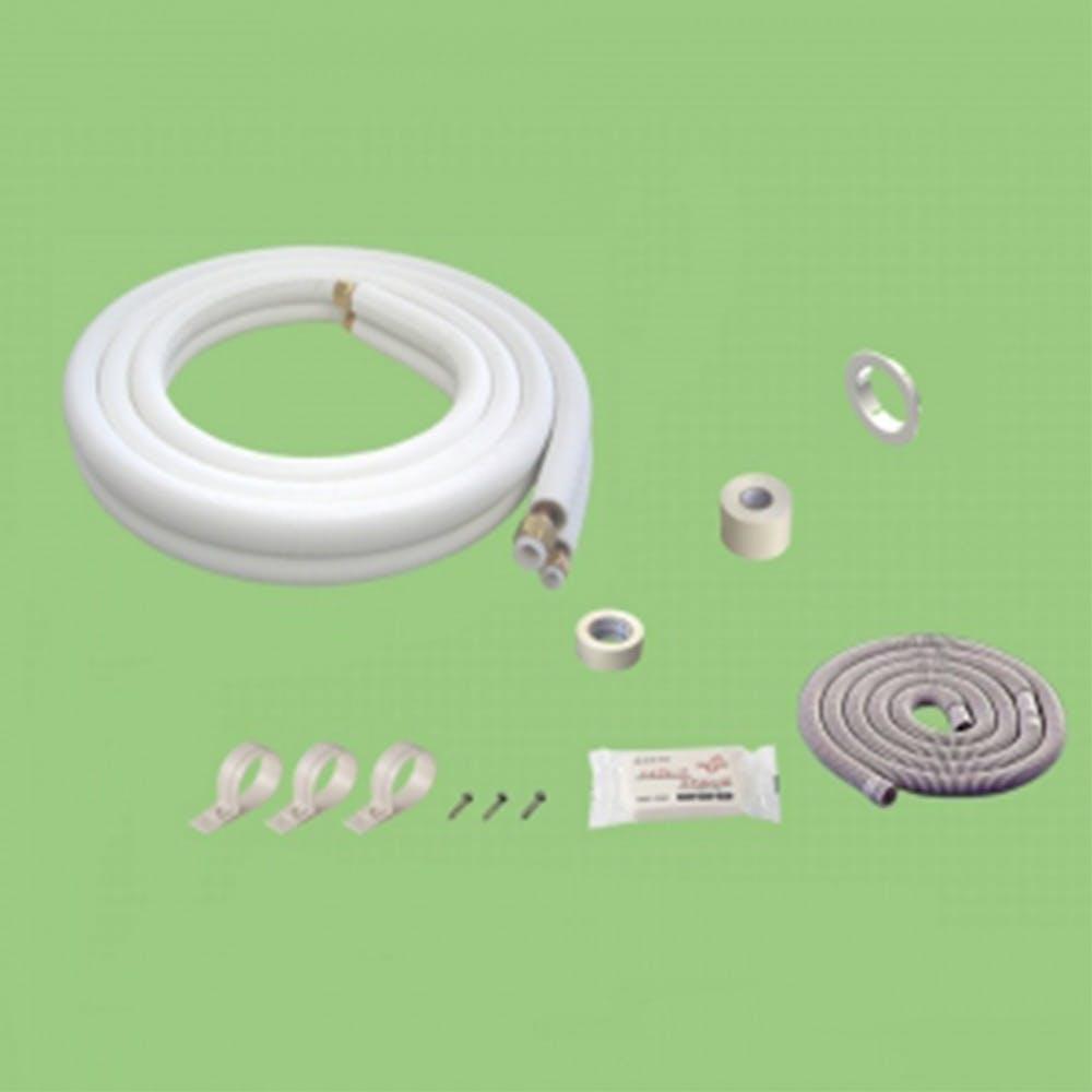 【店舗取り置き限定】<ケース販売用単品JAN>関東器材 配管セット2分3分5m 5P-FSP, , product