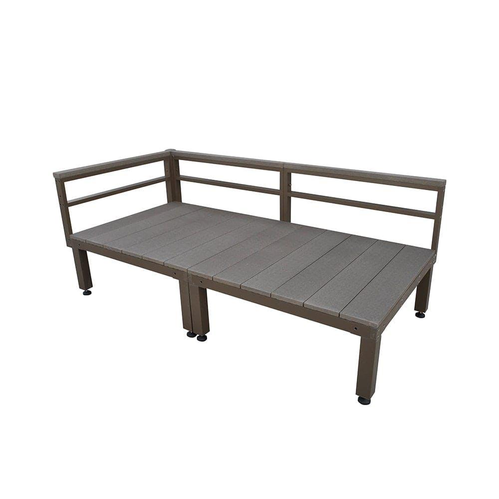 【SU】人工木ユニットデッキ 0.5坪セット DB, , product