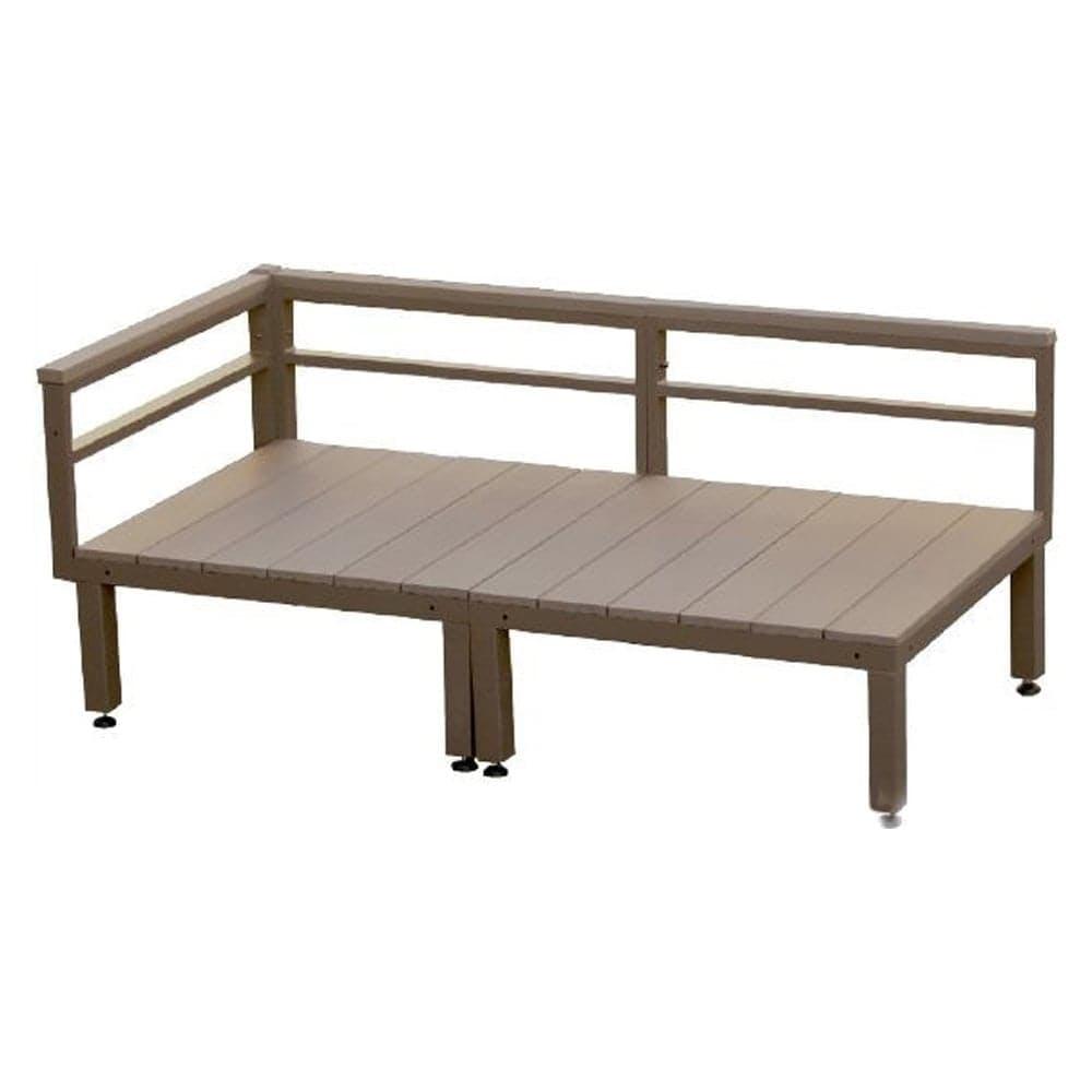 【SU】人工木ユニットデッキ 0.5坪セット BR, , product