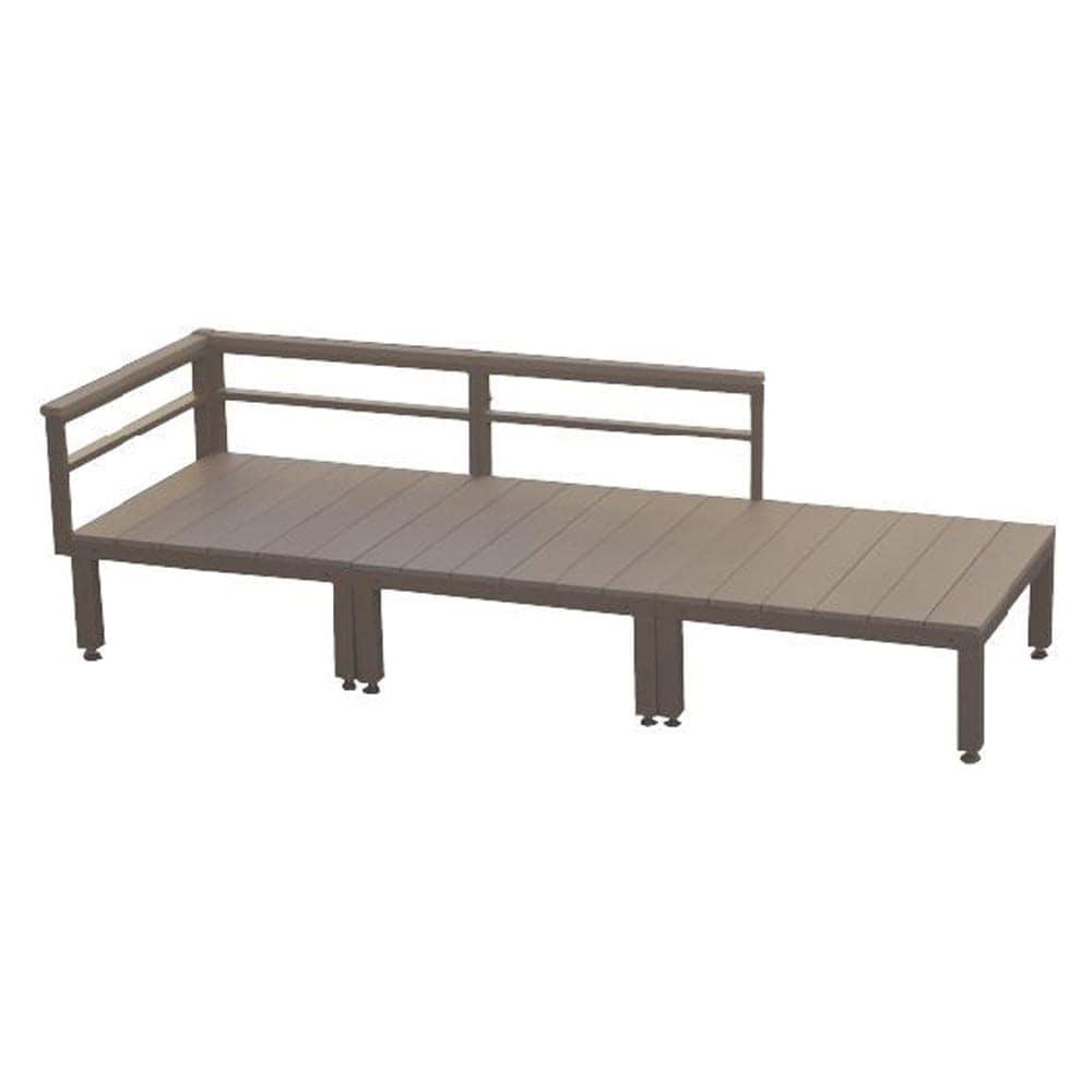 【SU】人工木ユニットデッキ 0.75坪セット BR, , product
