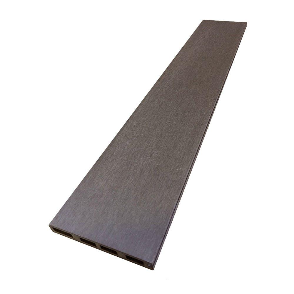 人工木ボーダーフェンス(追加用)ダークブラウン, , product