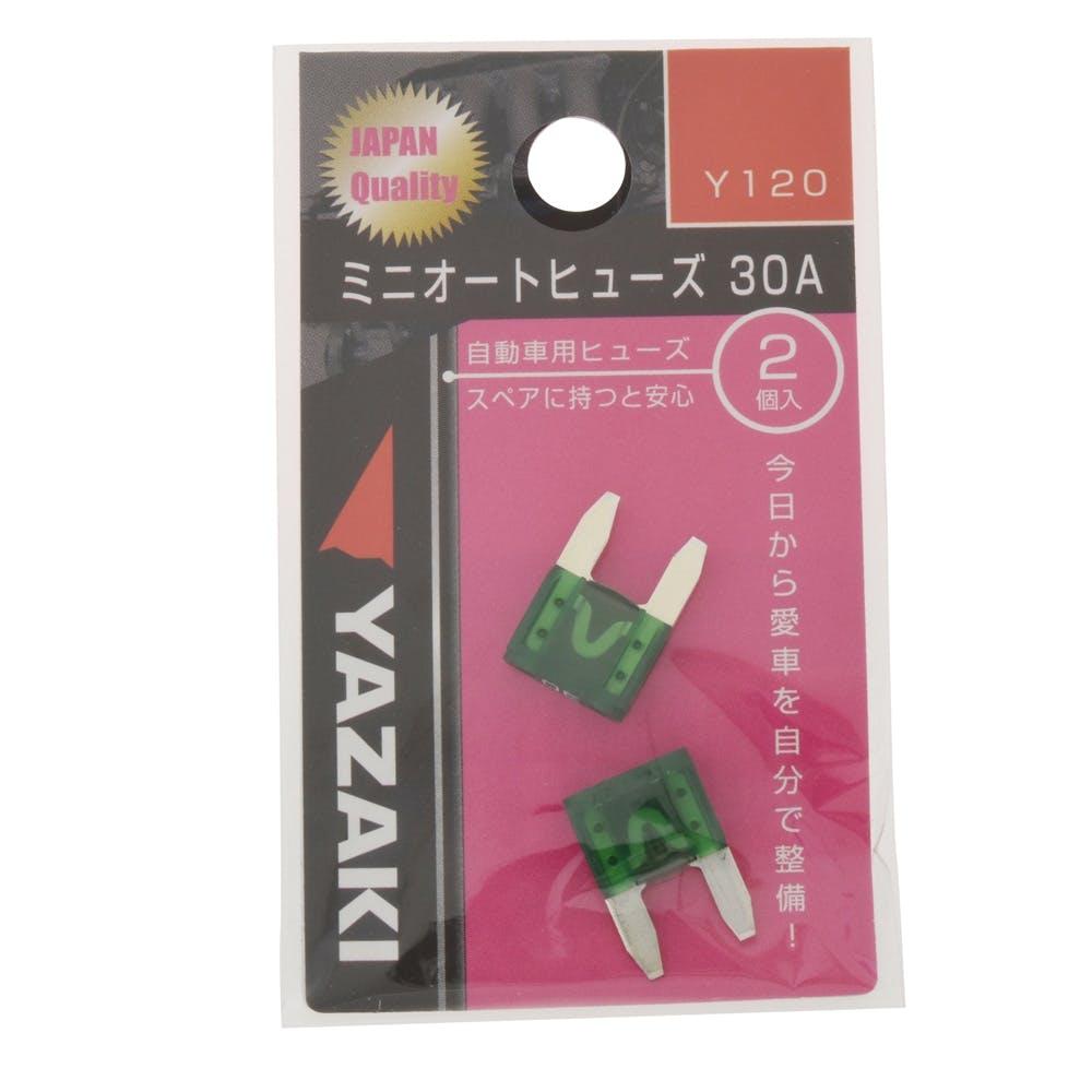 ミニオートヒューズ 30A Y120, , product