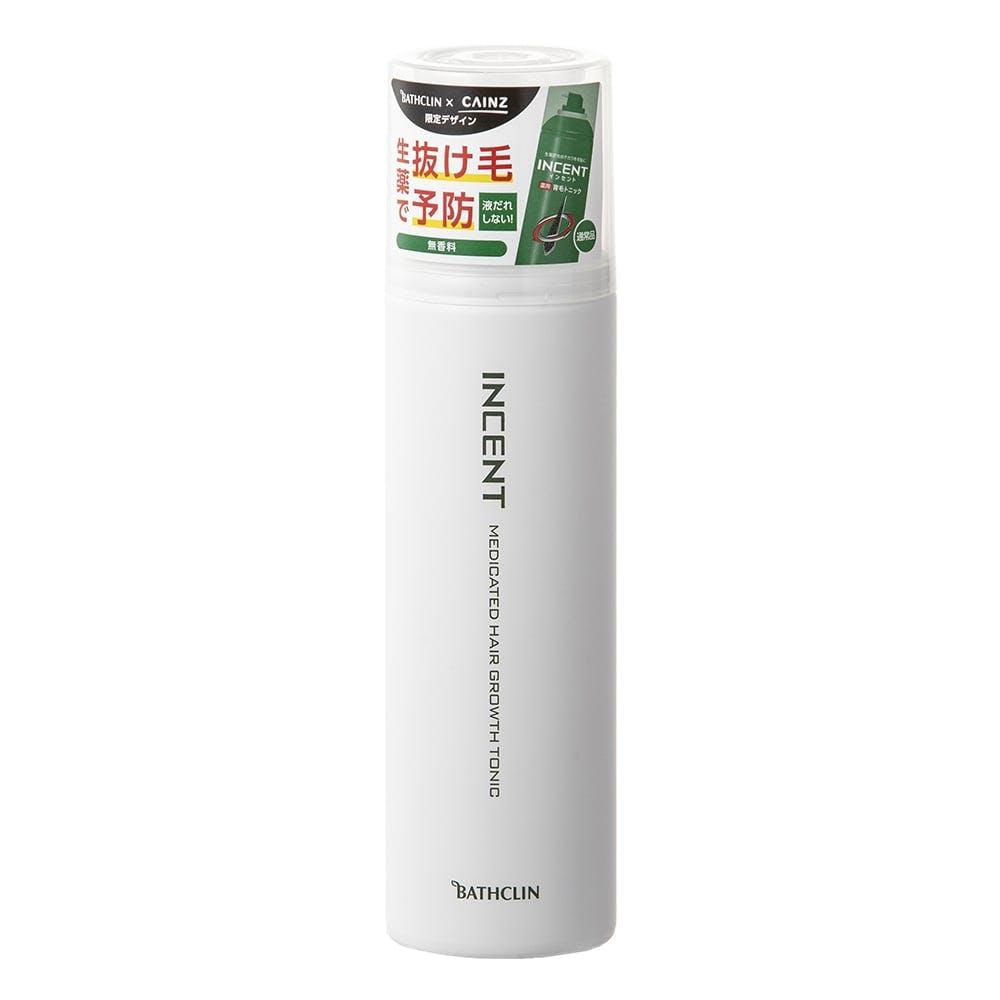 バスクリン インセント 薬用育毛トニック 無香料 限定デザイン 180g, , product