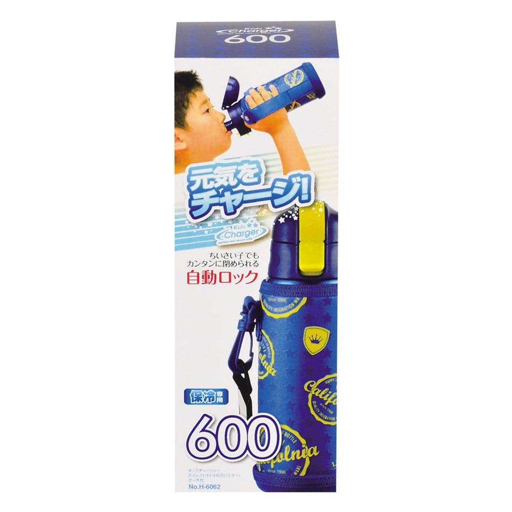 キッズチャージャー ダイレクトボトル 600ml スター HB-2797, , product