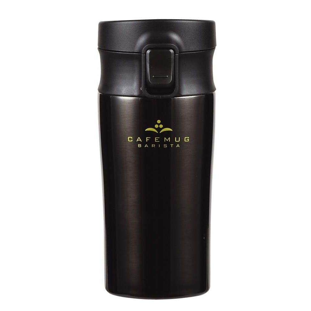 カフェマグバリスタ ワンタッチタンブラー 400ml ブラック HB4535, , product