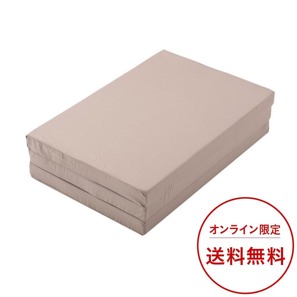 厚さ8cmの三折硬質マットレス シングル, , product