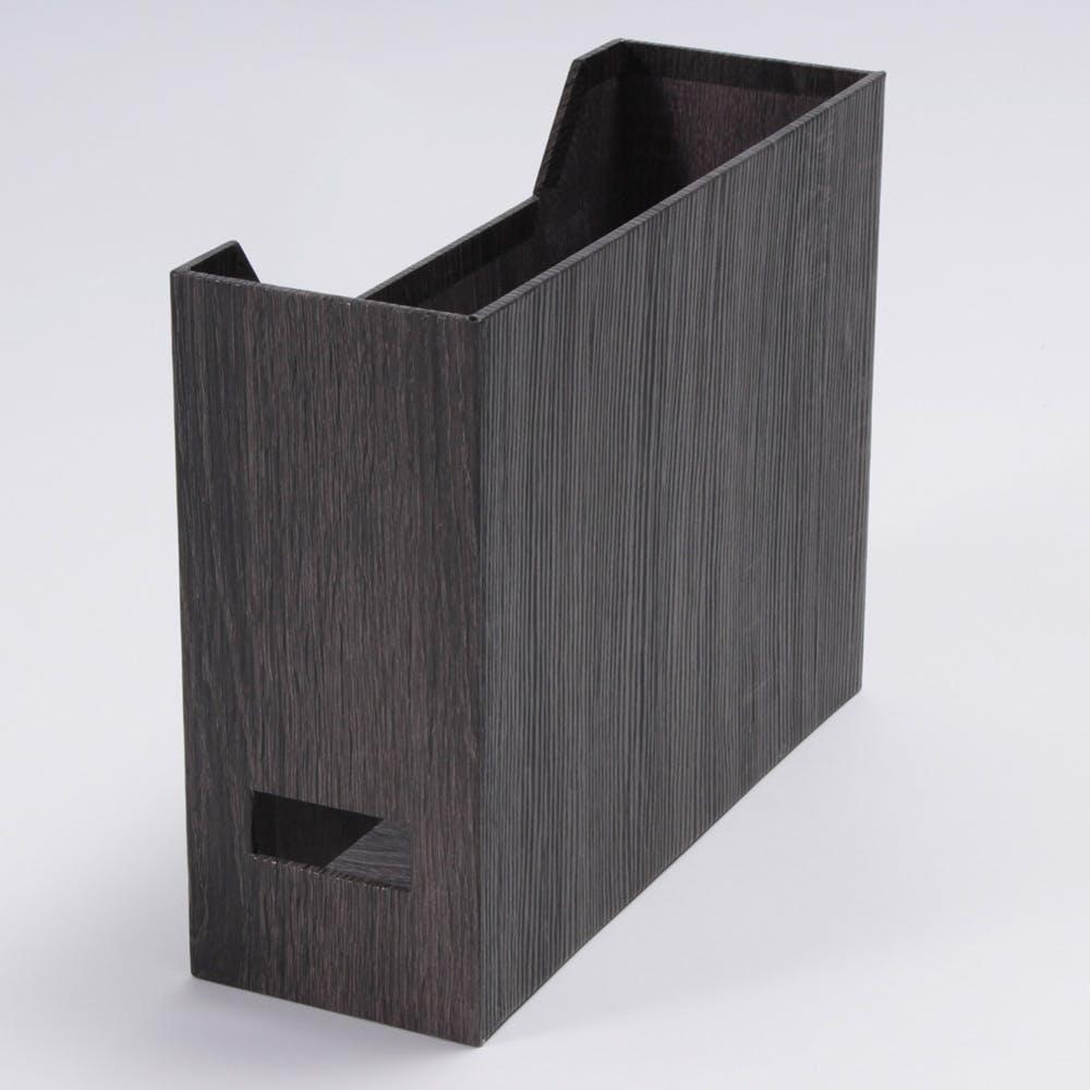 木目調ファイルケース ブラウン, , product