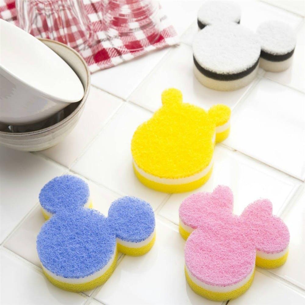 食器用スポンジ ミニーマウス ピンク, , product
