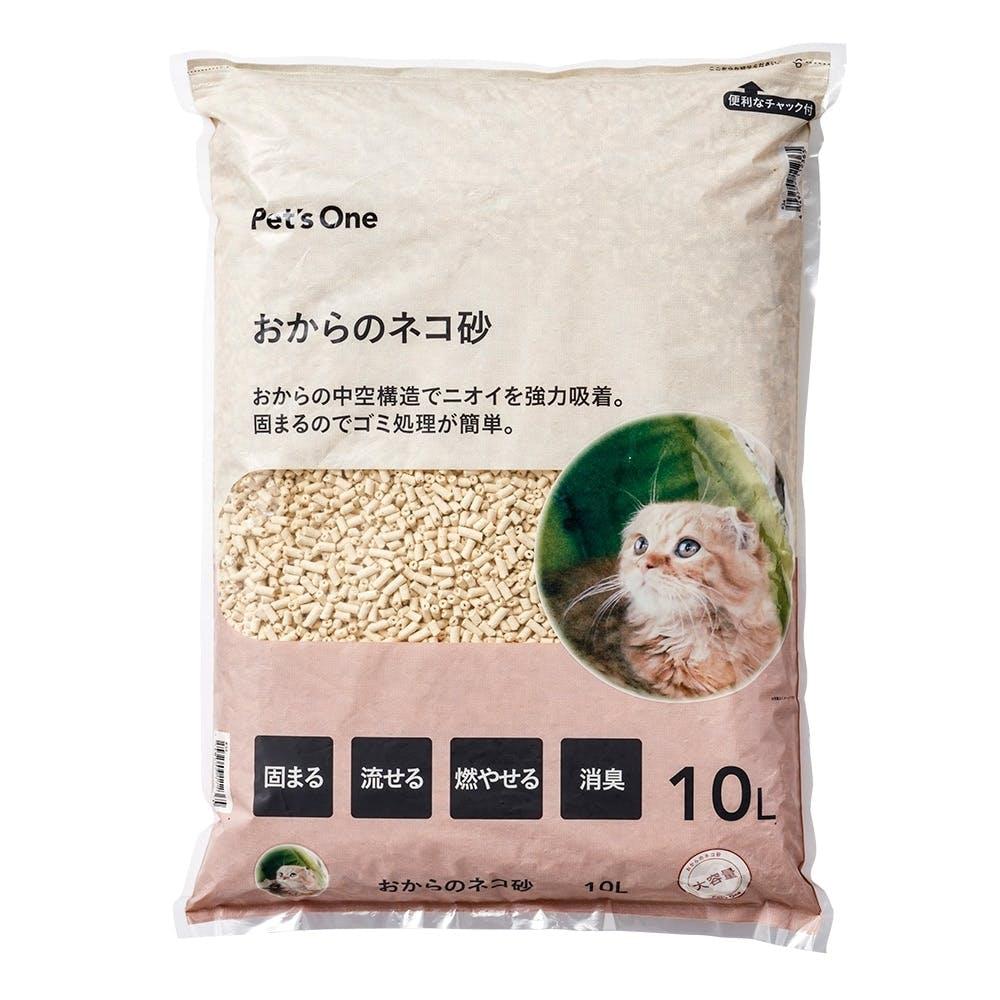 猫砂 Pet'sOne おからのネコ砂 10L, , product