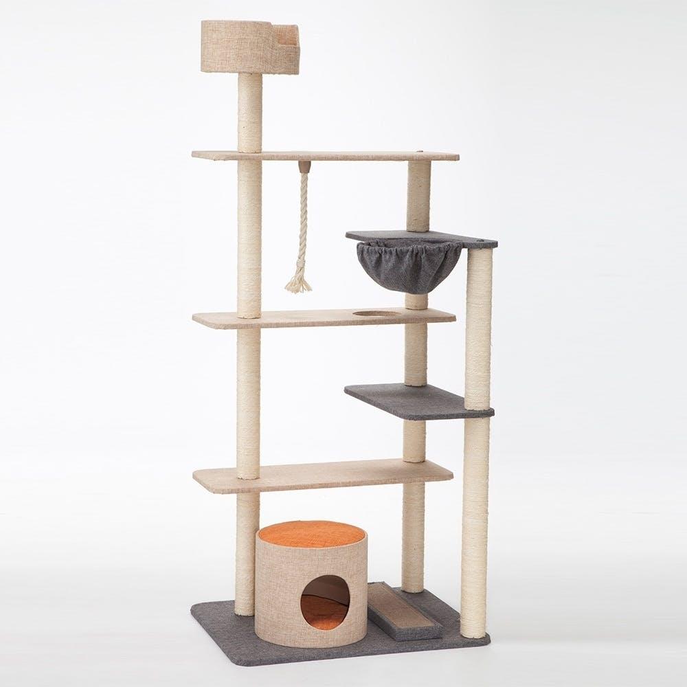 【店舗限定】キャットインテリアタワー デラックス, , product