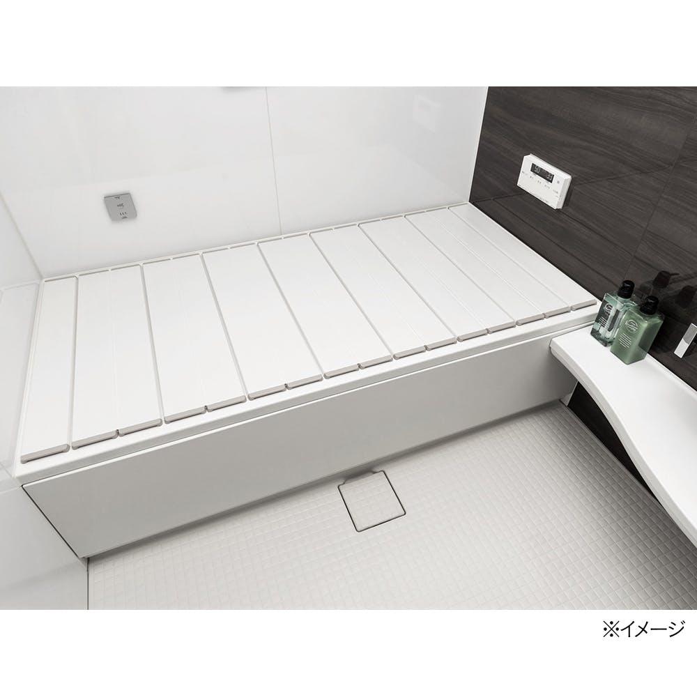 折りたたみ風呂フタ ホワイト M-12 70×120cm, , product