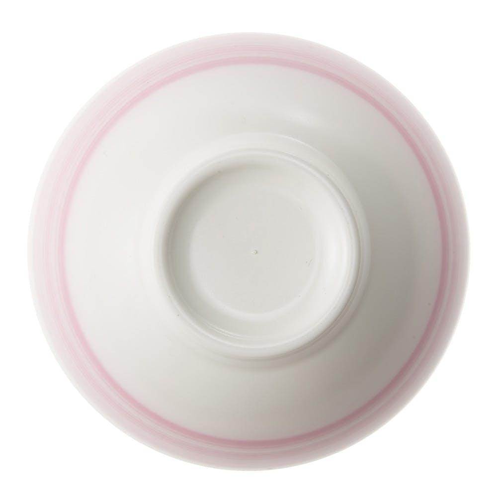 汁椀 HAJIKU 刷毛目おび ピンク, , product