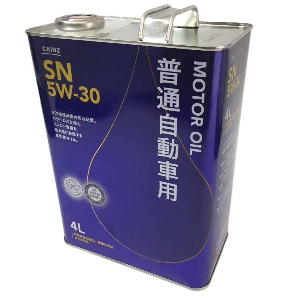 【SU】普通自動車用エンジンオイル SN 5W-30 4L, , product