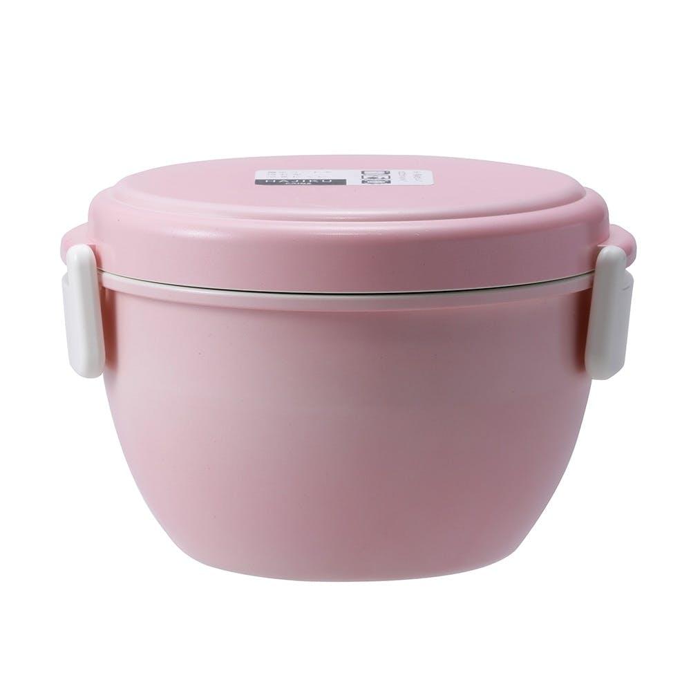 弁当箱 どんぶりランチボックス HAJIKU ピンク, , product
