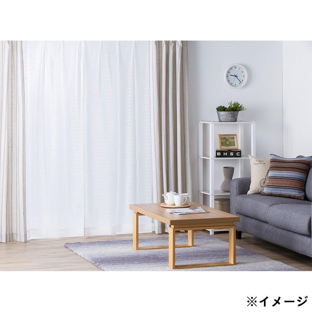 ボイル スルー アイボリー 100×198cm 2枚組 レースカーテン, , product