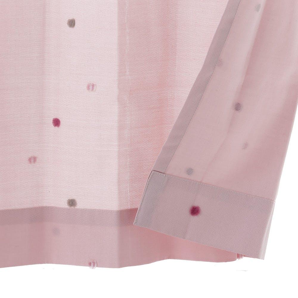 形状記憶カーテン トリコ ピンク 100×178cm 2枚組, , product