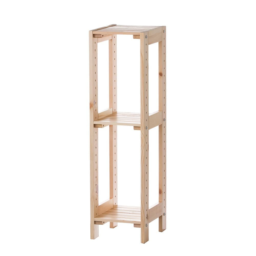 C1 木製ラック25 3段 ナチュラル, , product