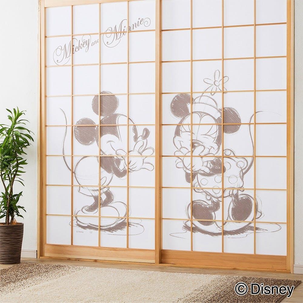 ディズニー 障子紙 ミッキー&ミニー 92×184cm, , product