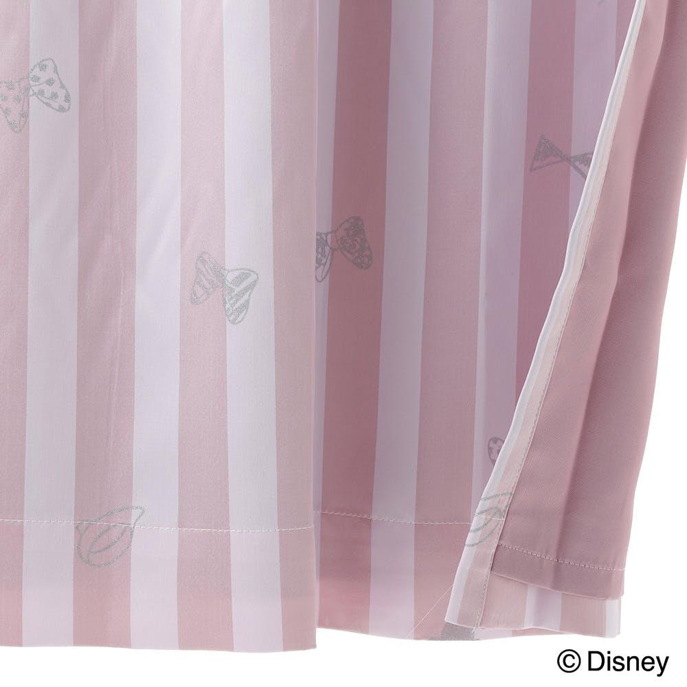 ディズニー カーテン ミニーマウス 100×200cm 2枚組【別送品】, , product