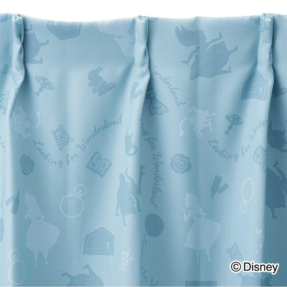ディズニー カーテン 不思議の国のアリス 100×200cm 2枚組【別送品】, , product