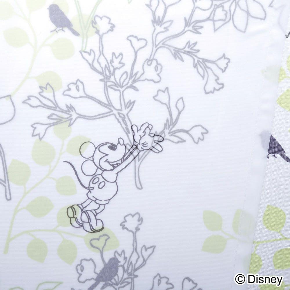 ディズニー ミッキーマウス グリーン 100×198cm 2枚組 レースカーテン【別送品】, , product