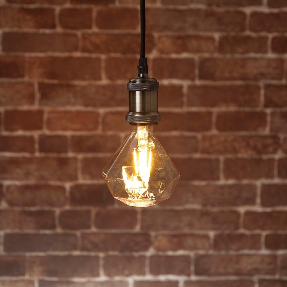 LEDフィラメント電球 LDA4L-D4 E26 4.0W 電球色, , product