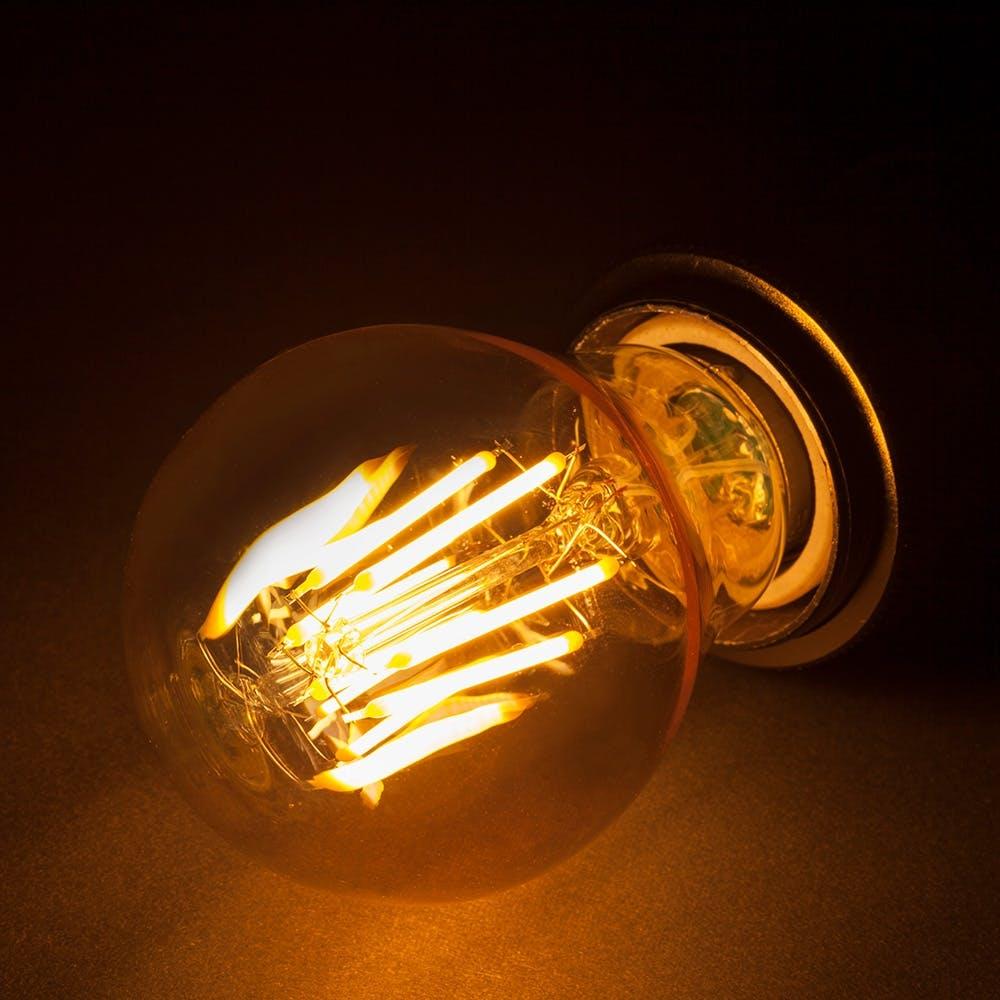 LEDフィラメント電球 LDA4L-1 E26 4.0W 電球色, , product