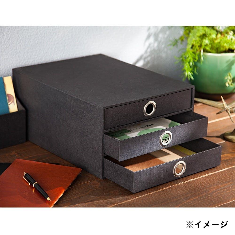 キャビネットケース 3段 ブラック, , product