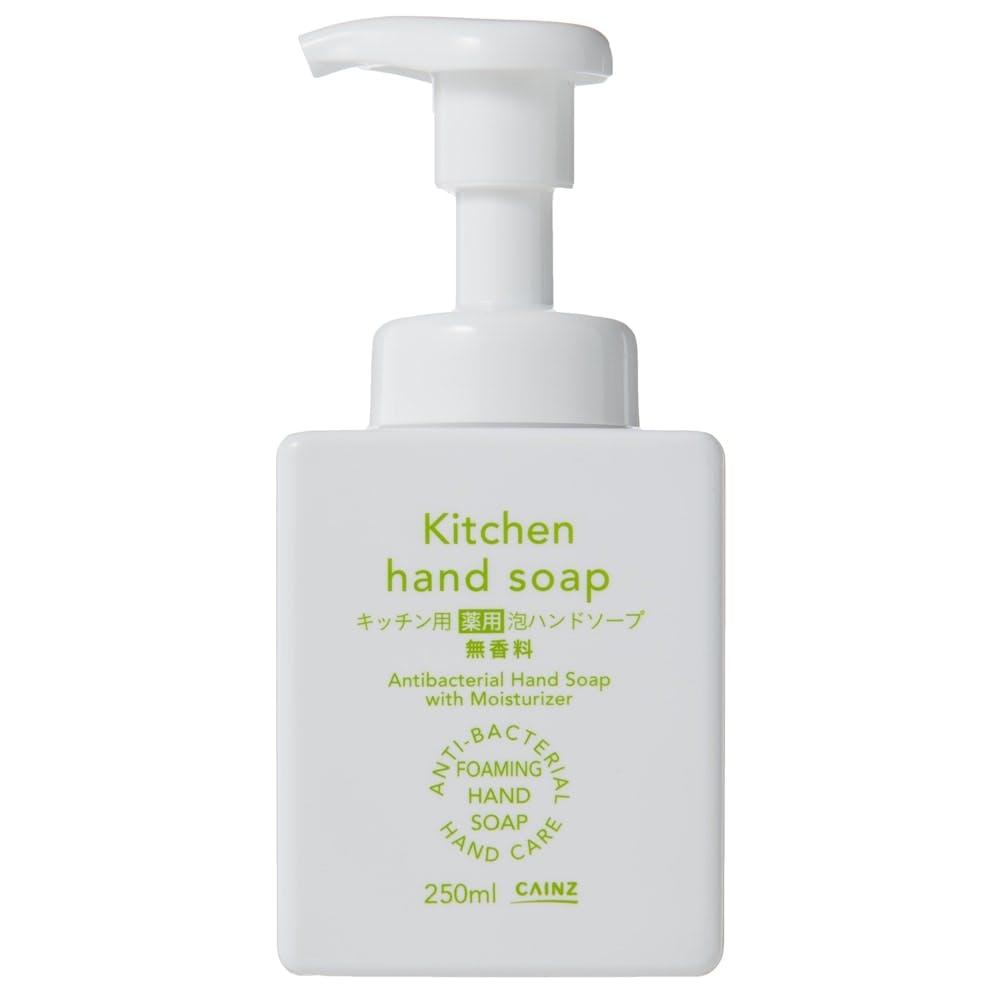 CAINZ キッチン用 薬用泡ハンドソープ 無香料 本体 250ml, , product
