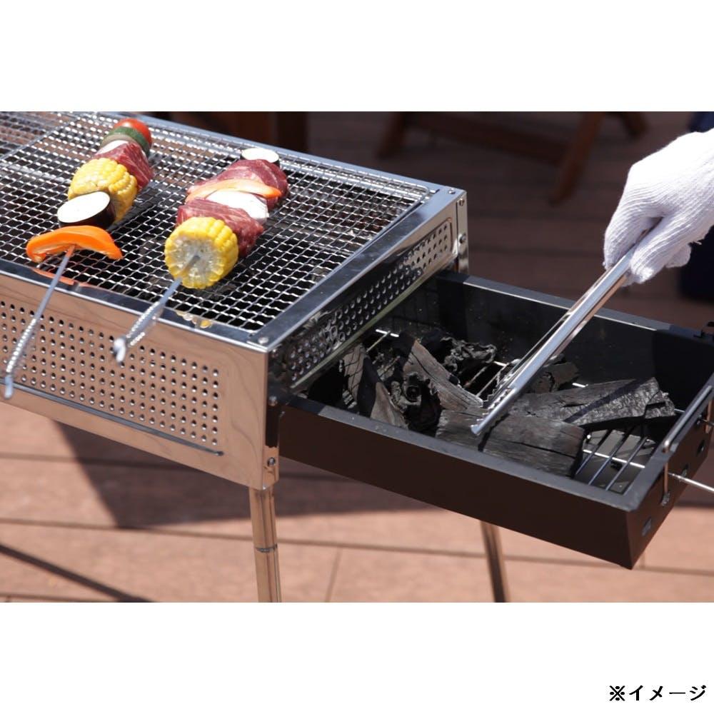 【数量限定】炭の継ぎ足しが簡単コンロ STT-6632, , product