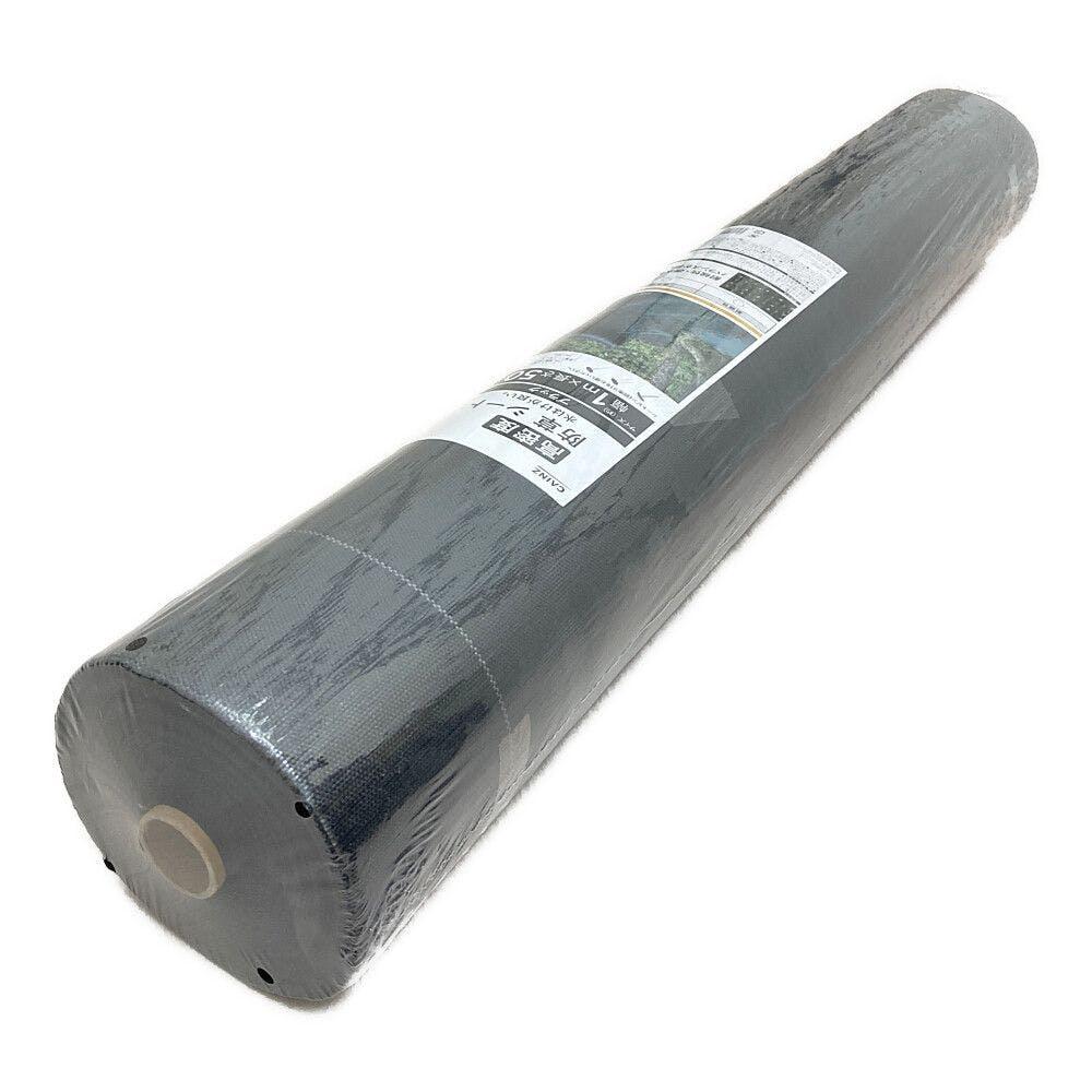 高密度防草シート 1×50m 黒, , product