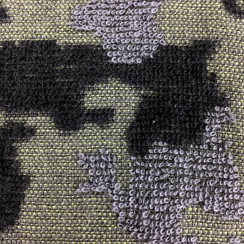 頭に巻けるロングタオル カモフラグリーン 34×100cm, , product