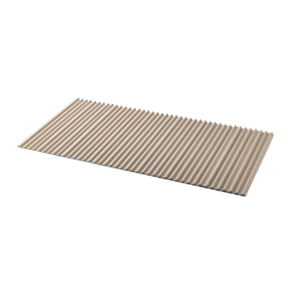 コンパクト波型風呂フタ L15 ベージュ 75×150cm, , product