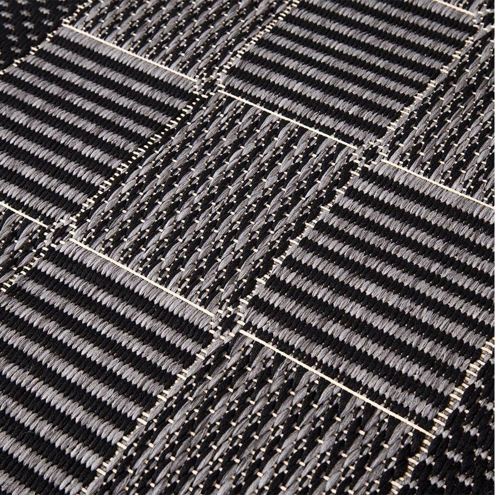 ベルギーウィルトンラグ ブラウ 180×180, , product