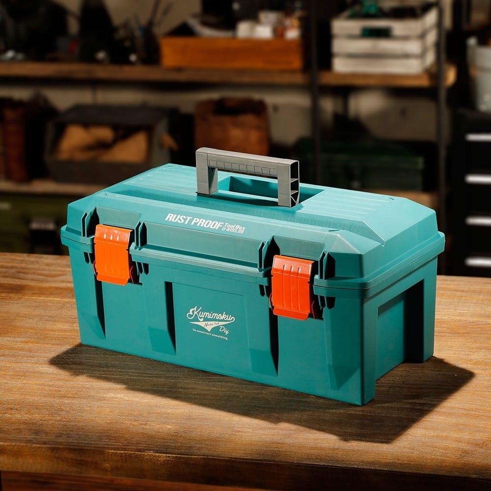 Kumimoku 道具が錆びにくい工具箱 ブルー, , product