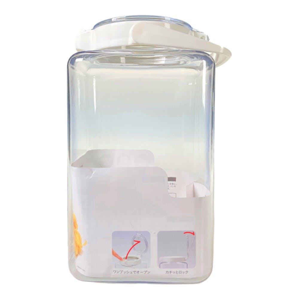 ワンプッシュで開閉できる保存容器 2.8L, , product