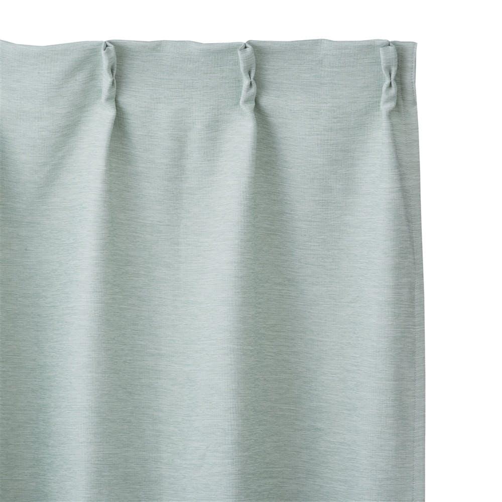 遮光防炎カーテン メホール グリーン 100×178cm 2枚組, , product