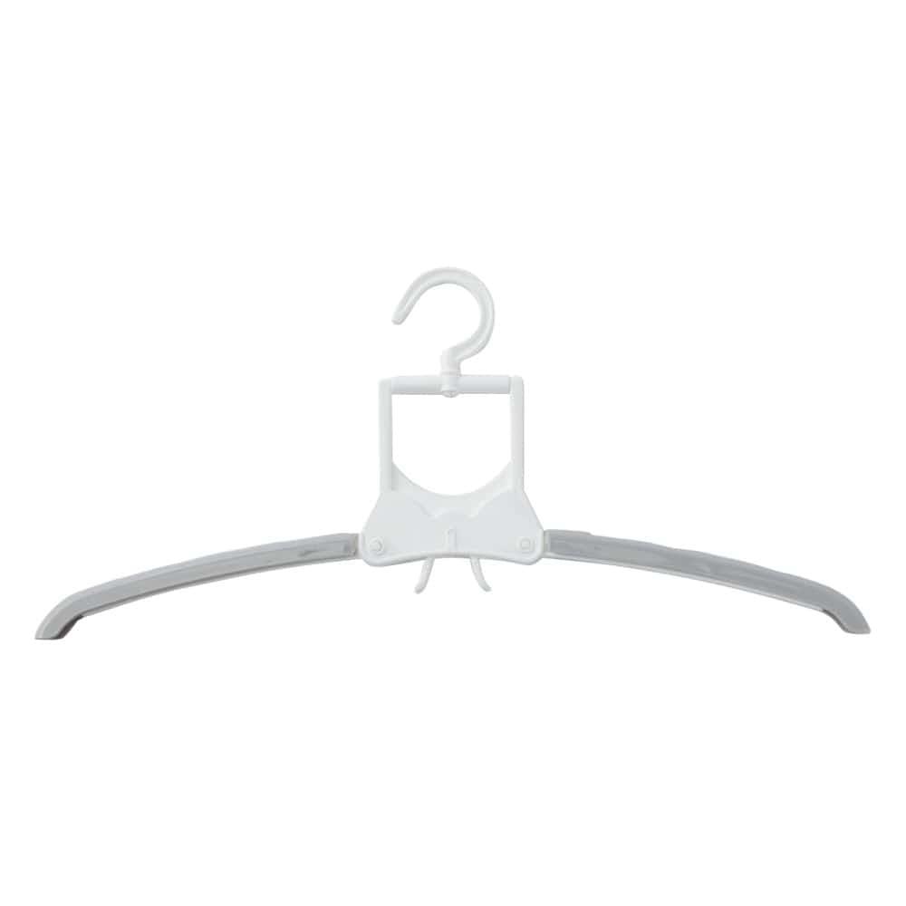 ワンタッチ7連スライドハンガー ホワイト, , product