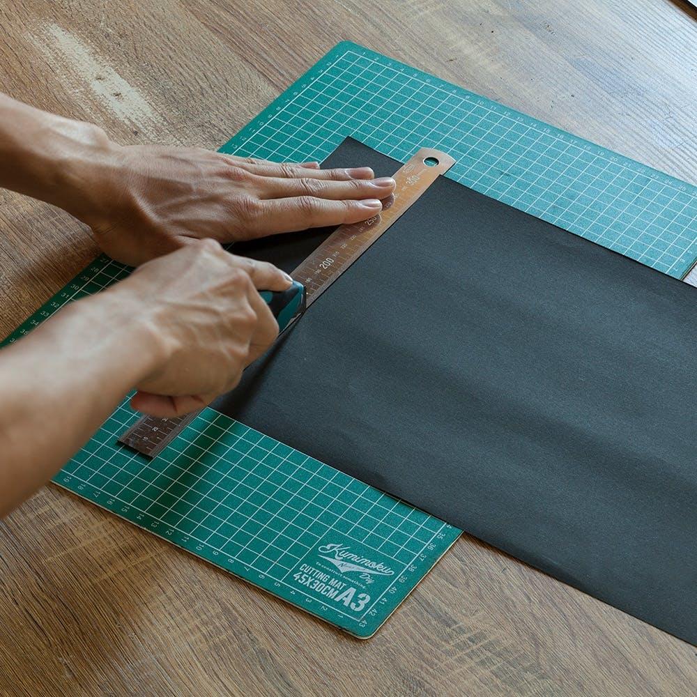 Kumimoku カッターマット&黒板ボード A3, , product