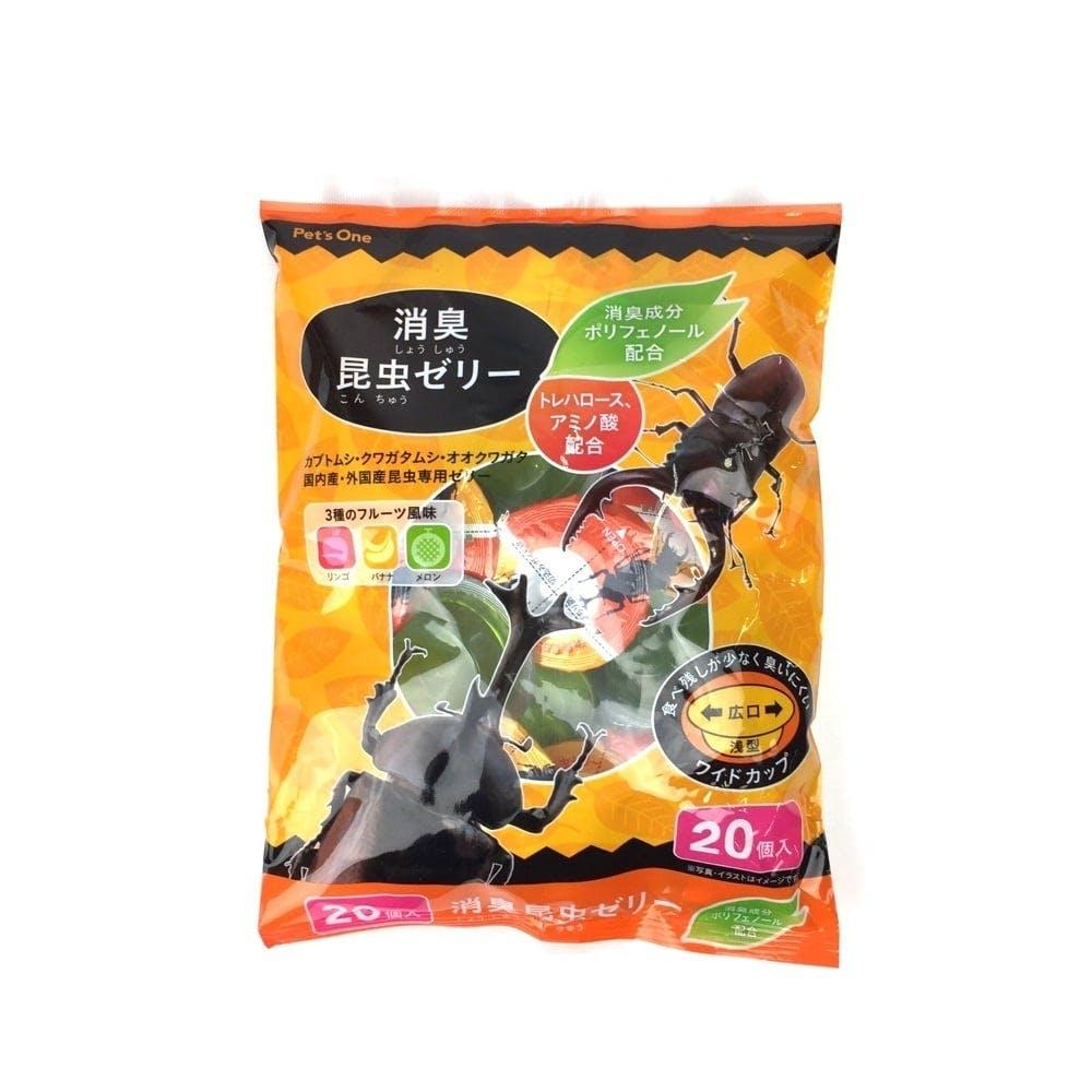 【店舗限定】消臭昆虫ゼリー フルーツ風味 20個入り, , product