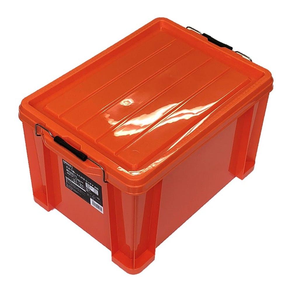 KUROCKER'S 丈夫で軽いふた付きコンテナ オレンジ #45, , product