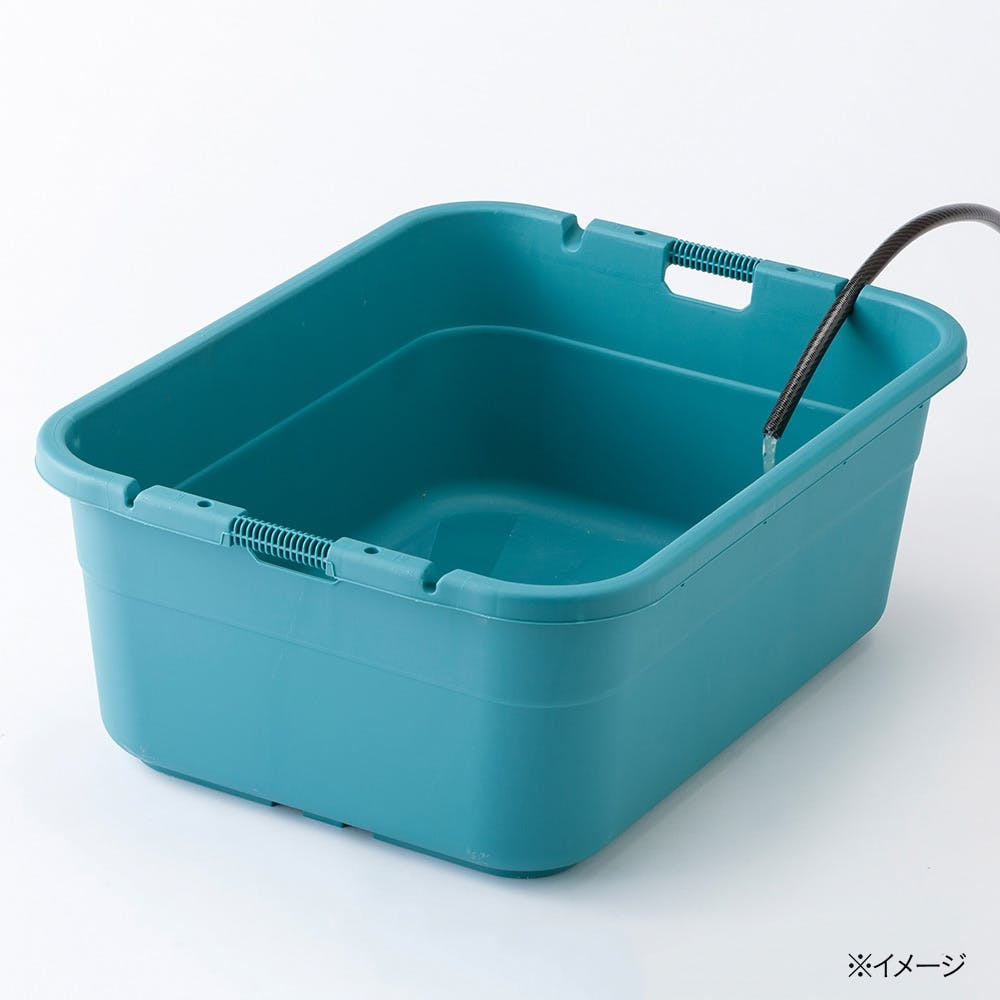 【店舗限定】ホースが留められるタライ 80L, , product